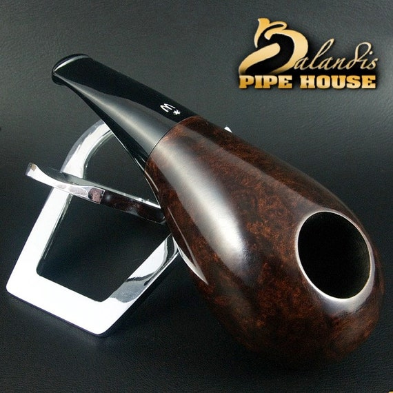 original smoking pipe handmade in POLAND by MASTER H.WOROBIEC nr.150 sex brown
