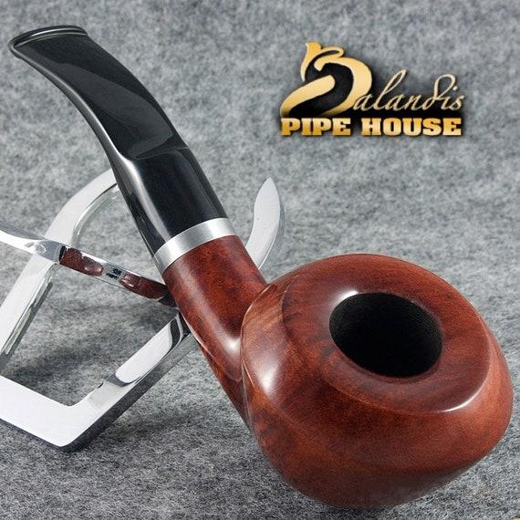 "Original BALANDIS Italian Briar Handmade Tobacco smoking pipe "" ANCONA 88 "" TEAK"
