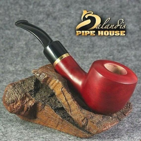 Balandis Original Pear wood Handmade TOBACCO smoking pipe WARRIOR smooth CY221