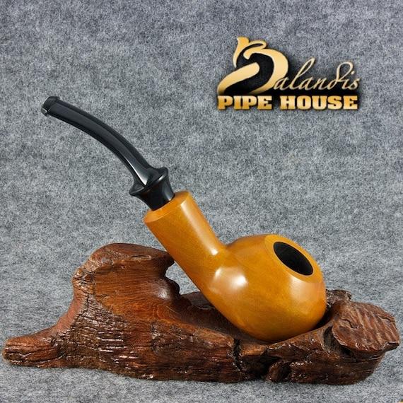 "BALANDIS Original Pear wood Handmade Tobacco Smoking Pipe - No. 33 "" DUKE "" Hona"