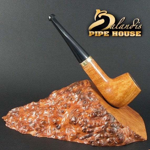 """Exclusive Balandis Original Briar Handmade Mini Smoking Pipe """" Huana """" Nut"""