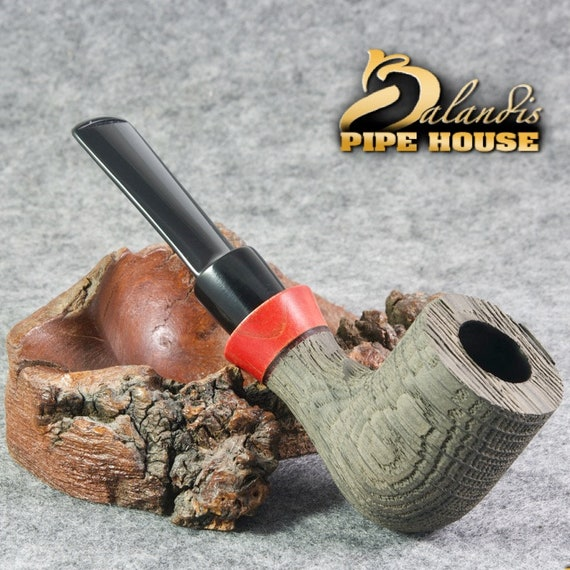 Outstanding D.BALANDIS Handmade Smoking Pipe Bog OAK Wood MORTA - Rangus Redian