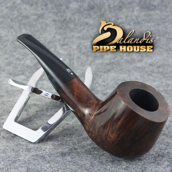 ORIGINAL WOROBIEC Tobacco SMOKING Pipe Handmade Nr.70 Brown Italian Briar Extra
