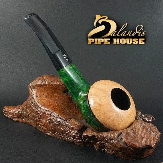 OUTSTANDING H.WOROBIEC Nr 148 Briar Wood Handmade Smoking Pipe TOMATO Funkalia
