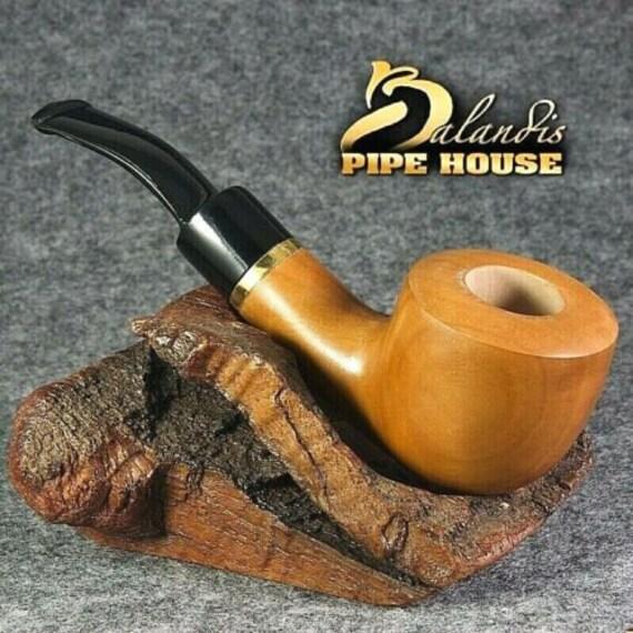Balandis Original Pear wood Handmade TOBACCO smoking pipe WARRIOR smooth BK201