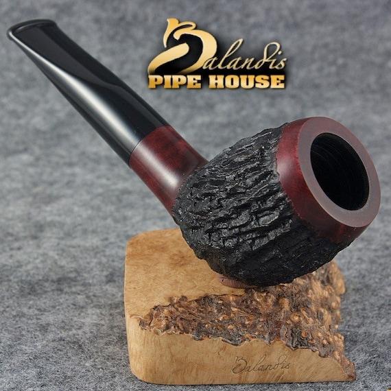 "Balandis Original Briar Handmade Tobacco SMOKING Pipe "" TORONTO "" REDDIA"