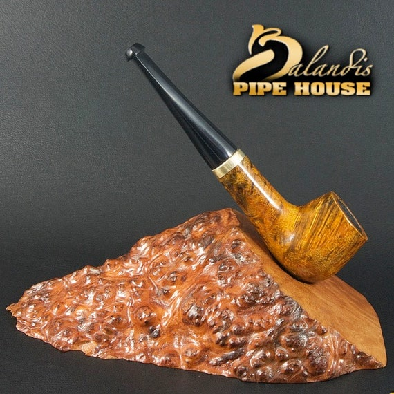 "Exclusive Balandis Original Briar Handmade Mini Smoking Pipe "" Huana "" Amber"