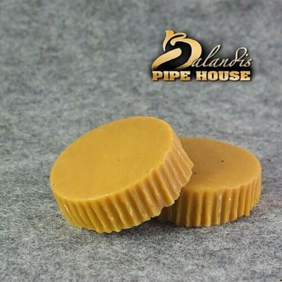 Balandis 100% Natural Brazilian Cranuba wax for smoking pipe NEW SHINE ,1 disc 25gr