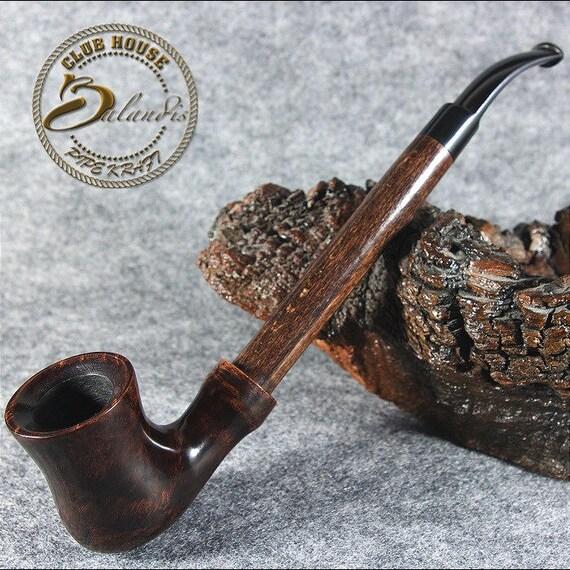 """Exclusive BALANDIS Original Briar Handmade Smoking pipe """"RUMCAJS"""" Barna RARE"""