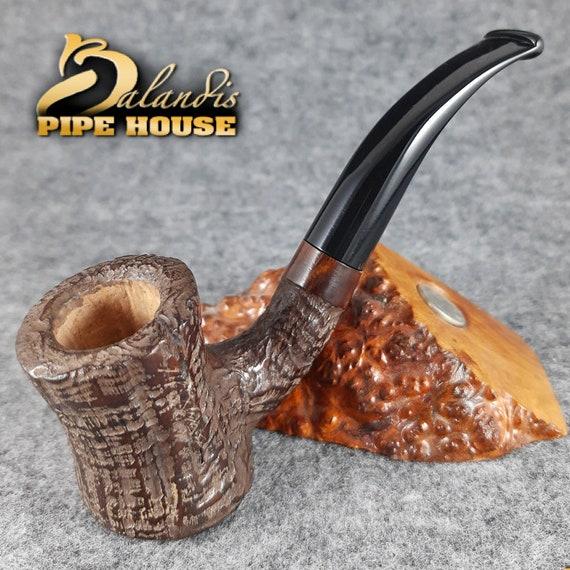Original D.BALANDIS Briar wood Handmade Tobacco Smoking pipe CLESSIDRA BRANO