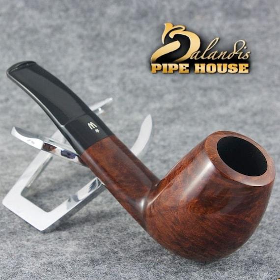 ORIGINAL WOROBIEC Tobacco Smoking Pipe Handmade Nr.50 Brown EXTRA Italian Briar