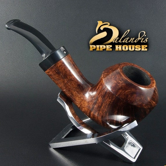 Outstanding WOROBIEC Nr 122 El Brunto natural BRIAR Wood Handmade Smoking Pipe