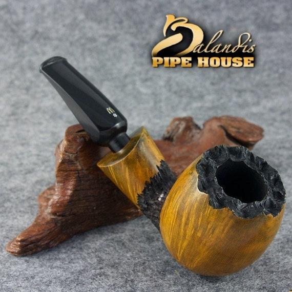 Tobacco Smoking Pipe Outstanding WOROBIEC Original Briar handmade Nr.88 BEE KING
