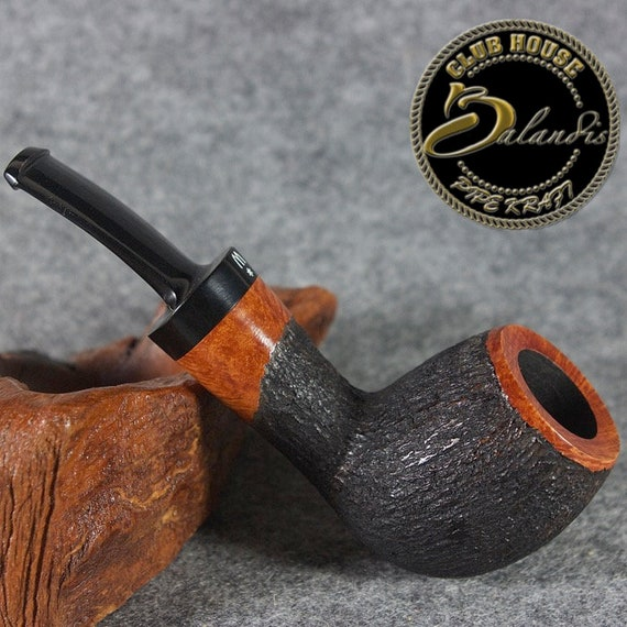 ORIGINAL smoking pipe handmade in POLAND by master H.WOROBIEC nr.83 teak smooth