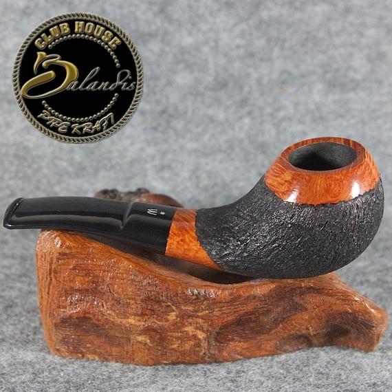 ORIGINAL smoking pipe handmade in POLAND by master H.WOROBIEC nr.43 teak carved sex