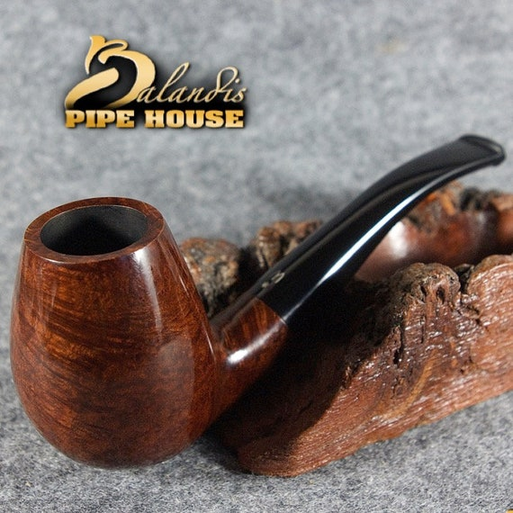 original smoking pipe handmade in POLAND by MASTER H.WOROBIEC nr.80 sex brown