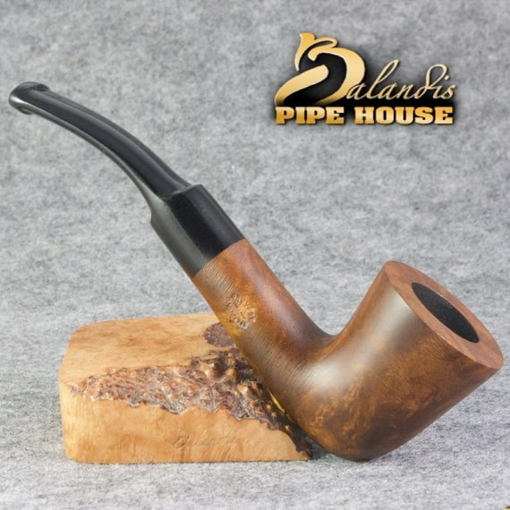 "BALANDIS Original Tobacco Smoking Pipe "" PASTORELLO "" BORSO Handmade Briar Wood"