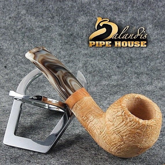 Outstanding BALANDIS original tobacco smoking pipe Handmade Briar MARCAN Sando