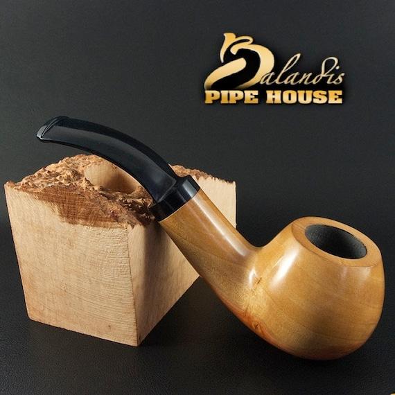 Outstanding Mr.Balandis original Hand made smoking pipe SPARROW natural PATTERN