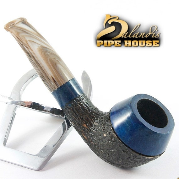 BALANDIS original Handmade Tobacco Briar wood smoking pipe MARCAN - BLUEBIRD