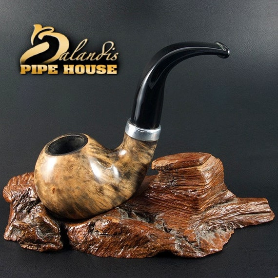 "Exclusive BALANDIS ORIGINAL Briar Wood Handmade smoking pipe ""FROGGIE 99"" Marm"