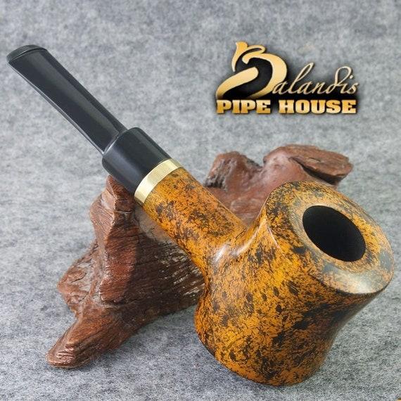 "Exclusive BALANDIS Original Handmade Pear wood Smoking Pipe "" X POKER MIETTA """