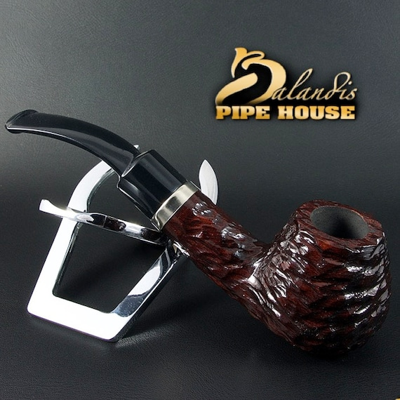 Outstanding Mr.BALANDIS Hand Made PEAR wood classic smoking pipe * Oregon Brunn *