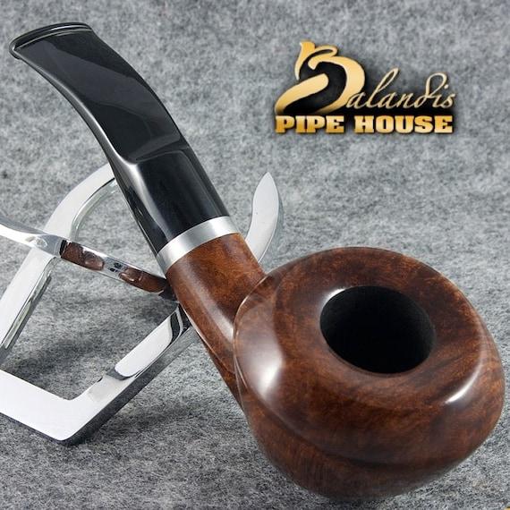 "Original BALANDIS Italian Briar Handmade Tobacco smoking pipe "" ANCONA 88 "" Bruna"