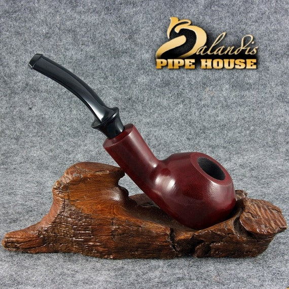 "BALANDIS Original Pear wood Handmade Tobacco Smoking Pipe - No. 33 "" DUKE "" Rubin"