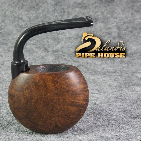 Balandis Handmade BRIAR smooth wood Tobacco Smoking pipe POCKET VINTAGE Baron