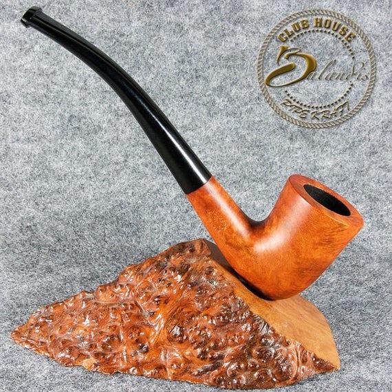"Balandis EXCLUSIVE HAND MADE Smooth Briar wood smoking pipe "" Baggins Bilbo """