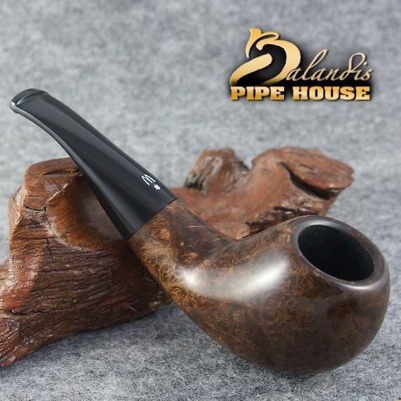 "Original WOROBIEC Nr.106 "" BRAMA "" FISH Briar Wood Handmade Tobacco Smoking Pipe"