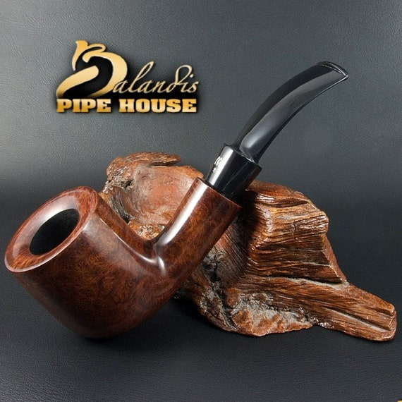 ORIGINAL smoking pipe handmade in POLAND by master H.WOROBIEC nr.146 Malcolm Brown