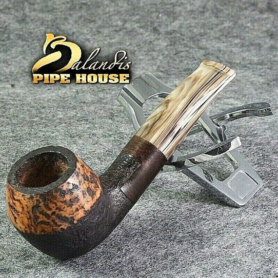 BALANDIS original Handmade tobacco smoking pipe MARCAN AVENTADOR Briar wood