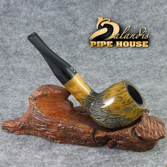 Freehand Worobiec Original Tobacco Smoking Pipe - ITALIAN BRIAR - Unique WURATHA