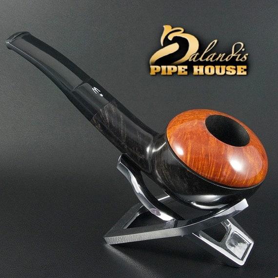 OUTSTANDING H.WOROBIEC Nr 148 Briar Wood Handmade Smoking Pipe TOMATO Morgalia