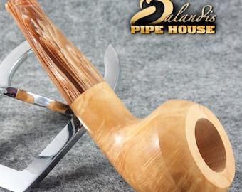 Exclusive BALANDIS Original Briar Handmade Tobacco Smoking pipe MARIACHI Natural
