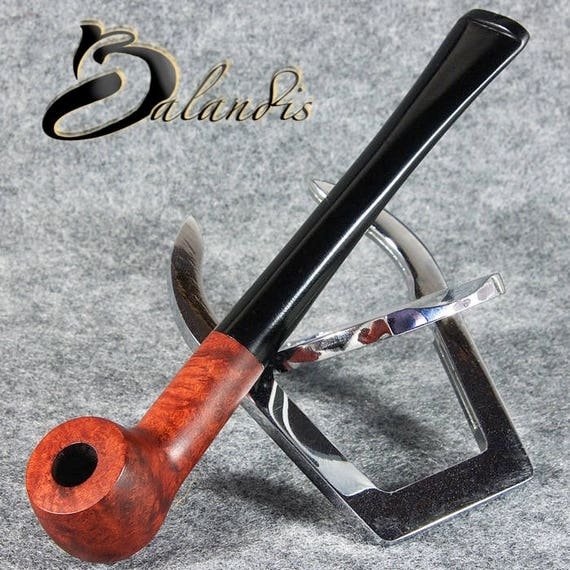 "Balandis EXCLUSIVE Hand Made smooth BRIAR small smoking pipe "" Small CUP "" teak"