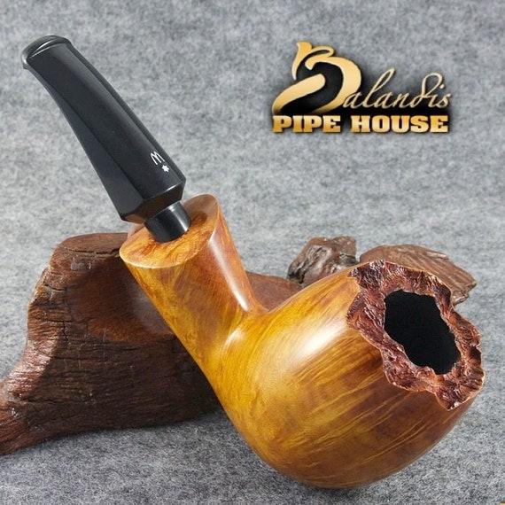 Tobacco Smoking Pipe Outstanding WOROBIEC Original Baria handmade AMBER KING 88 (9mm filter)