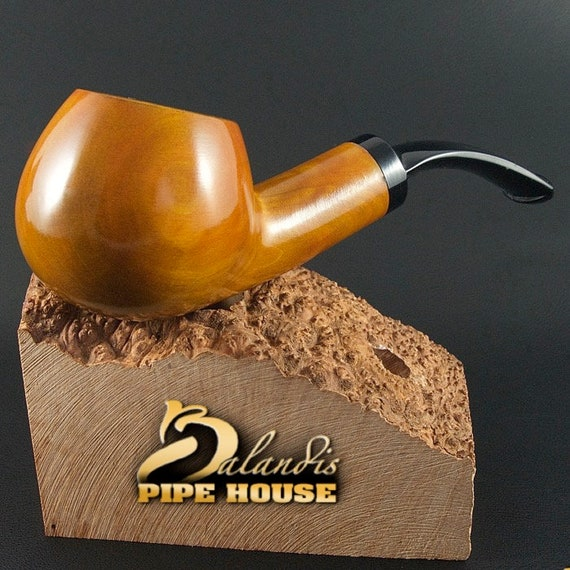 "Outstanding Mr.Balandis original Hand made smoking pipe "" SPARROW "" smooth HONEY"