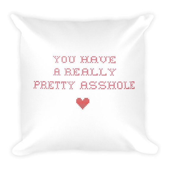 Valentines Subway Art pillow cover | Etsy