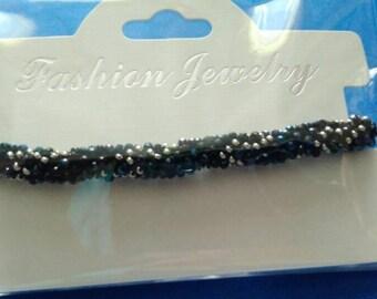 Beads crochet bracelet