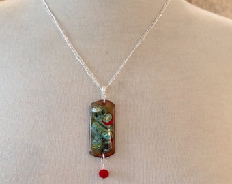 Glass Bead Fusion Necklace