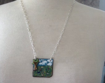 Little tree on the Prairie Necklace