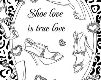 Adult coloring shoes   Etsy