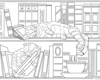 Adult Coloring Pages Etsy