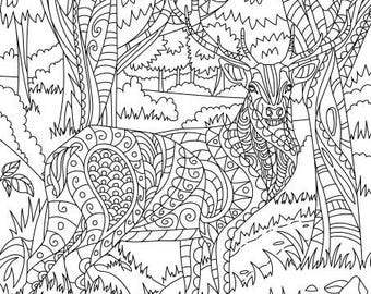 70s van coloring pages   Groovy 70s Printable Adult Coloring Page from Favoreads   Etsy
