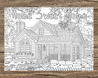 XMAS COLORING PAGES   270x340