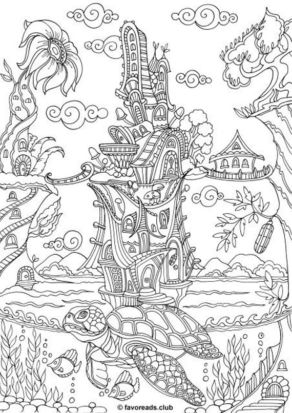 It is a picture of Clean Adult Coloring Printable Pages