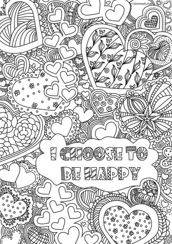 I Choose to Be Happy Printable